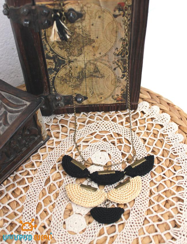 abanicos multiples negro y dorado  cajas cucali